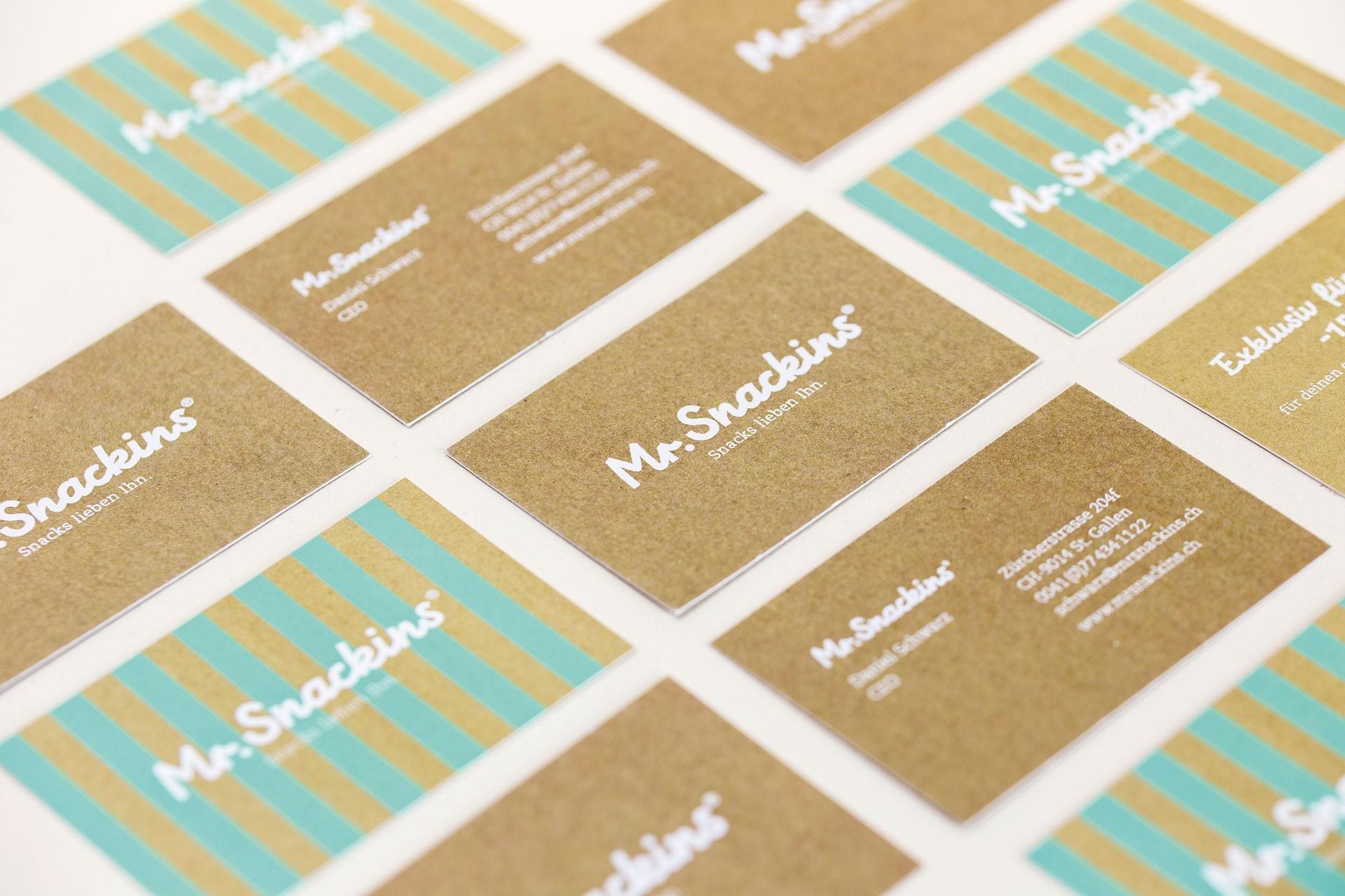 markburg – Studio für Markenbildung & Gestaltung Mr. Snackins