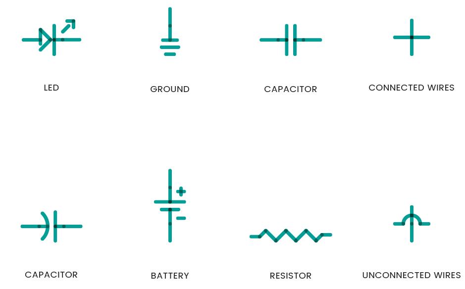 Ungewöhnlich Elektrisches Symbol Für Led Ideen - Elektrische ...