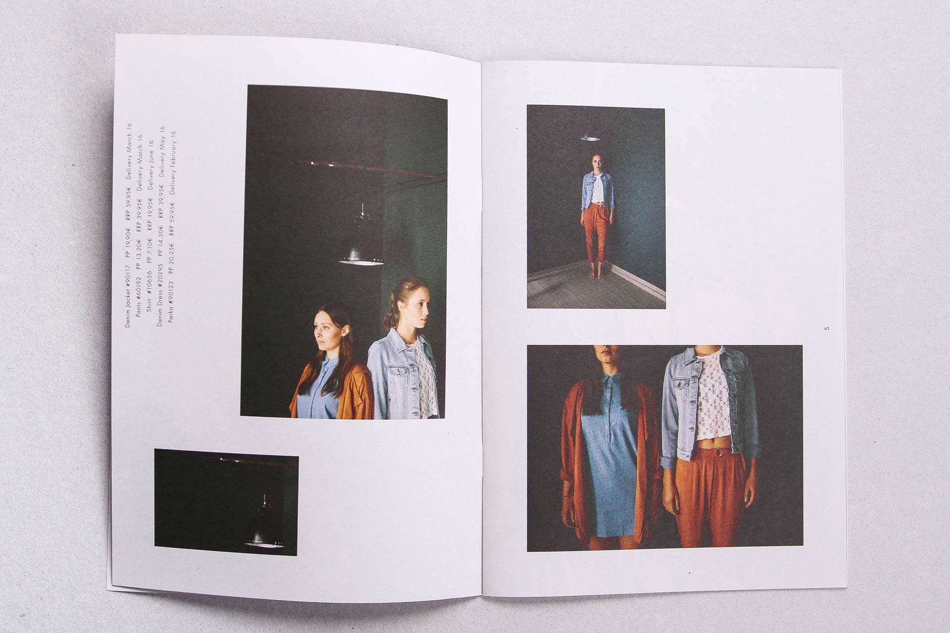 markburg – Studio für Markenbildung & Gestaltung 24COLOURS Lookbook SS