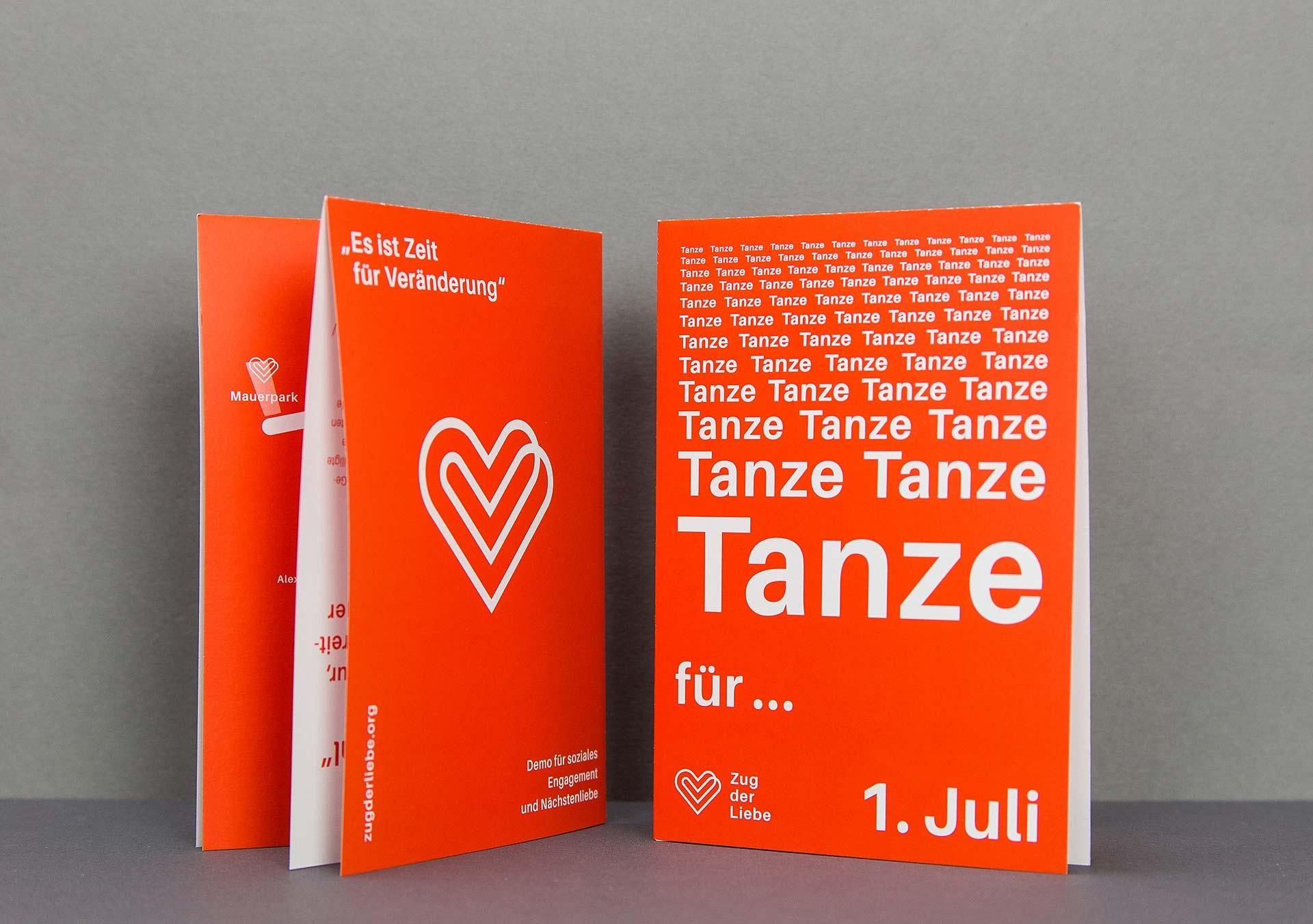 markburg – Studio für Markenbildung & Gestaltung Zug der Liebe 2017