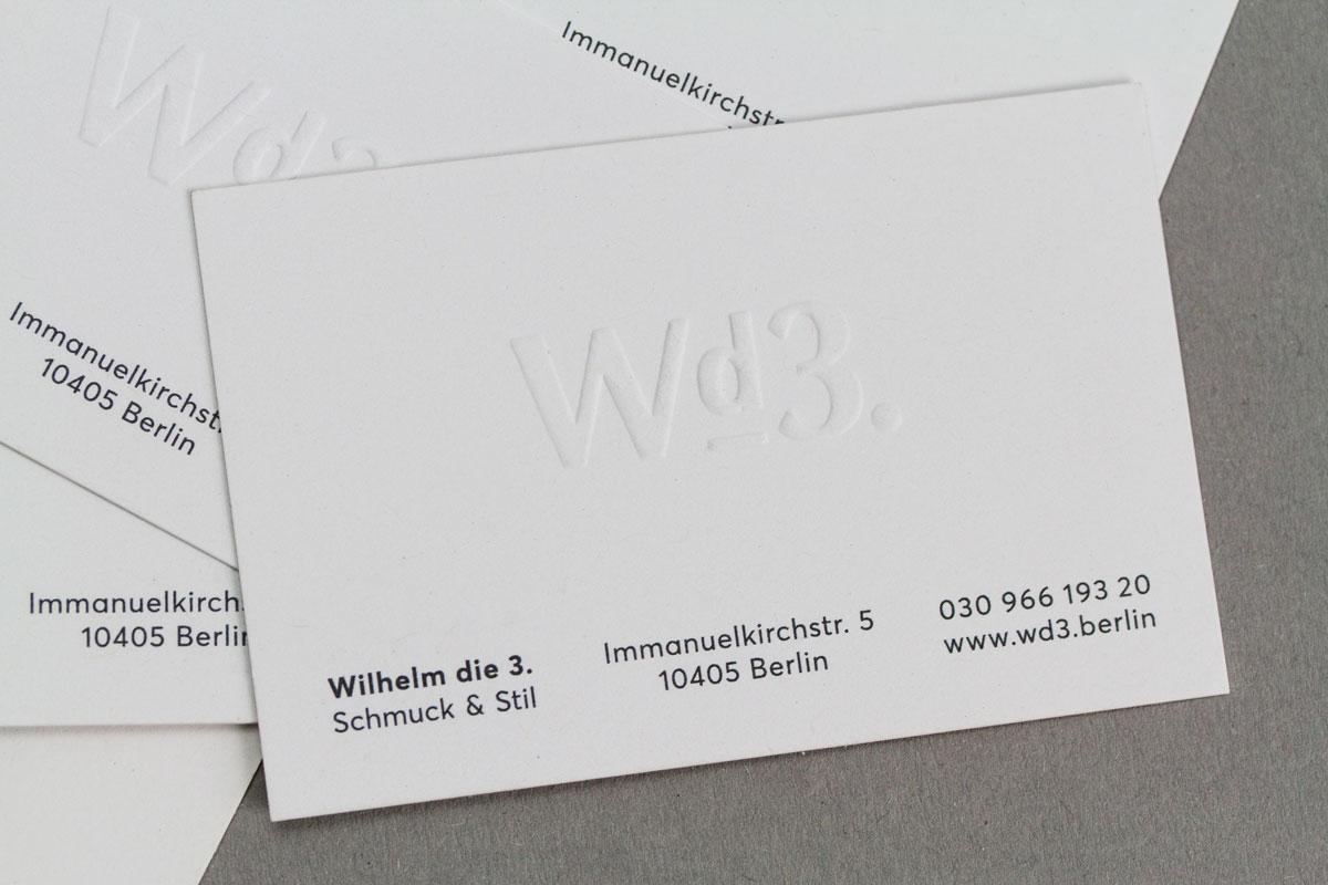 Wd3 Markburg Visitenkarte Praegung Markenentwicklung Detail Schmuck Berlin Jpg